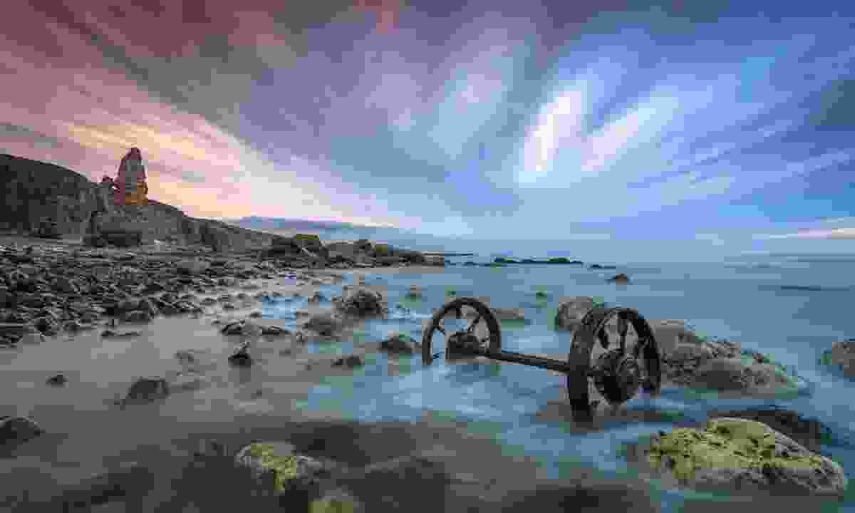 Chaldron wheels on the coast near Seaham (Shutterstock)