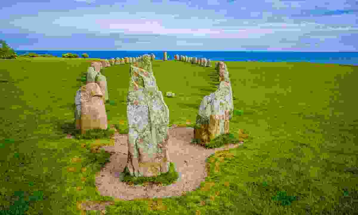 Ales stones, Skane, Sweden  (Shutterstock)