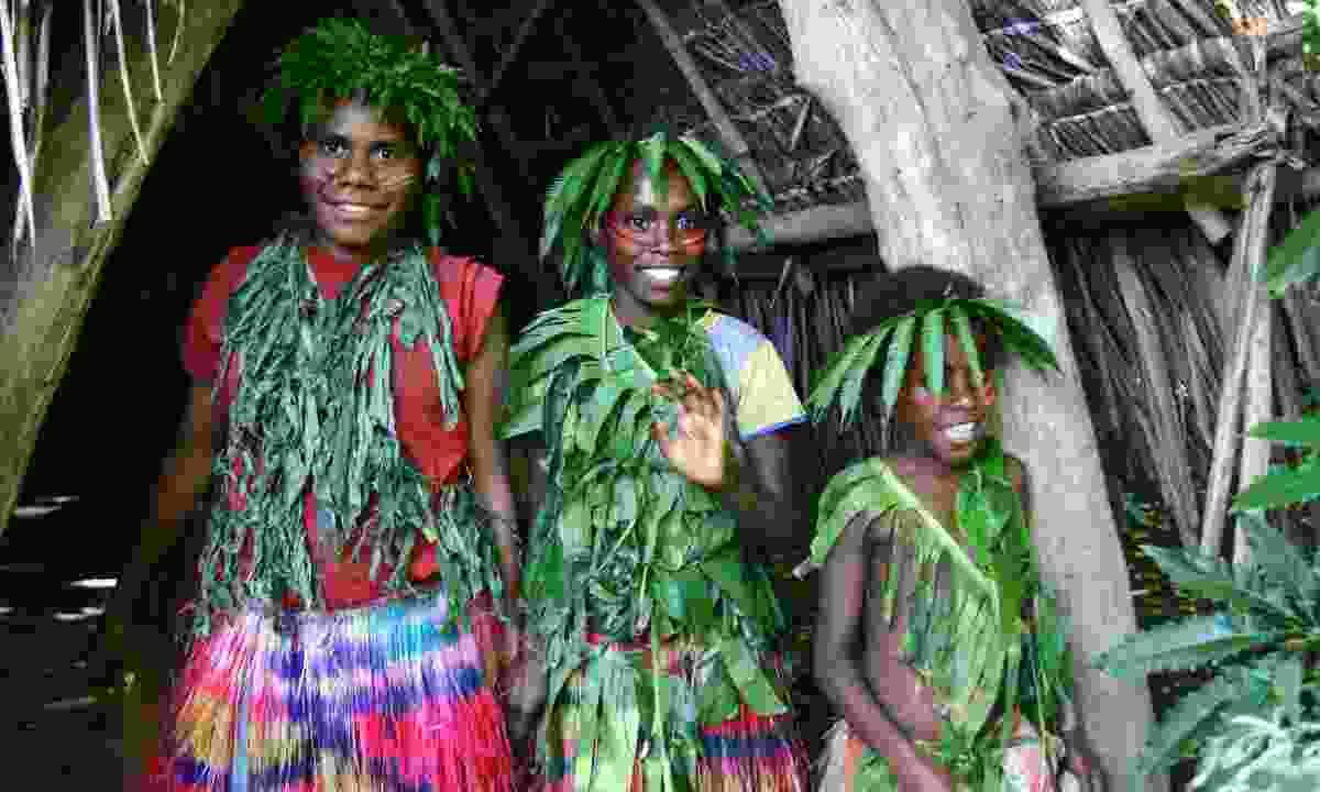Vanuatu girls (Dreamstime)
