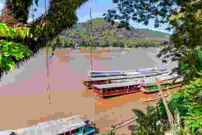 Mekong river, Laos. (Dreamstime)