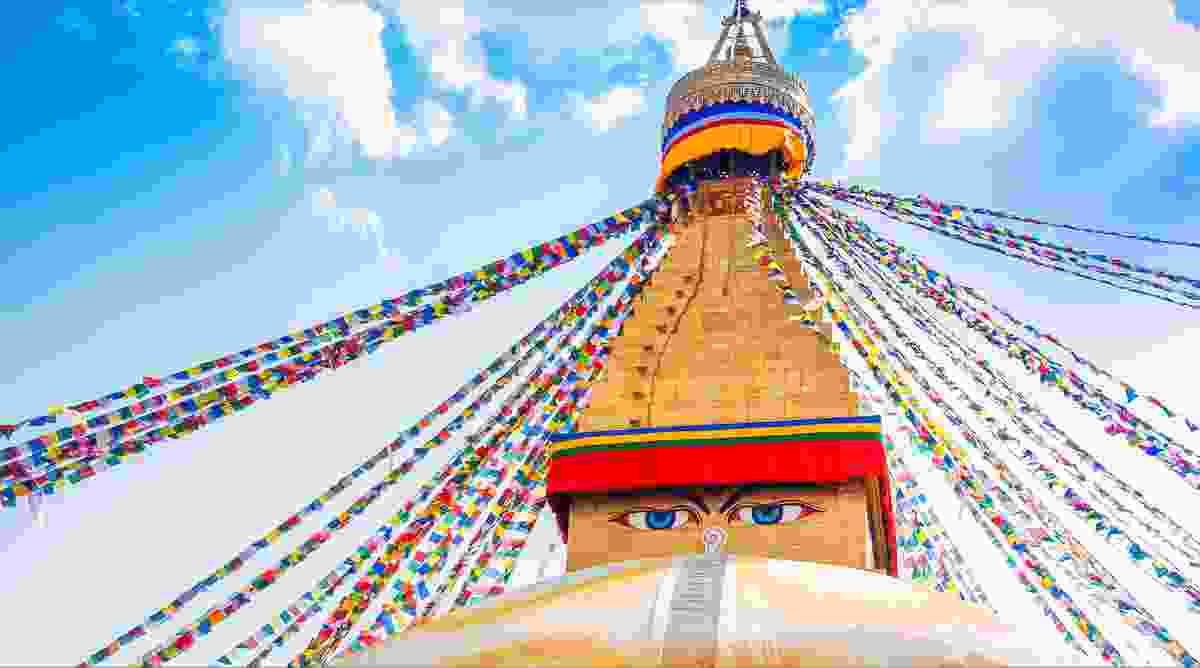 Boudhanath Stupa, Kathmandu Valley, Nepal (Dreamstime)