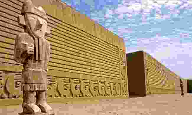 Chan Chan is rge largest pre-Columbian adobe city on the continent (Dreamstime)