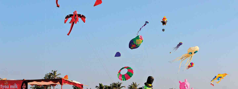 Gujarat Kite festival (Dreamstime)
