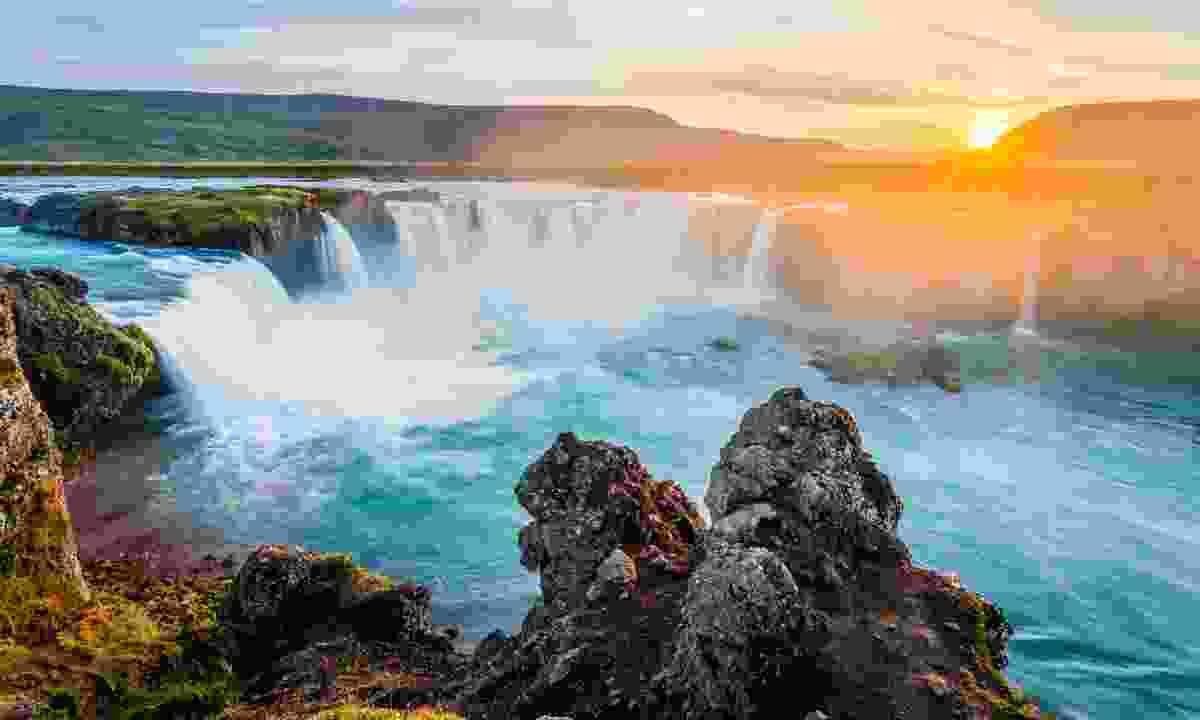 Goðafoss waterfall, Iceland. (Shutterstock)