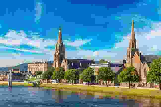 Inverness' Cityscape (Shutterstock)