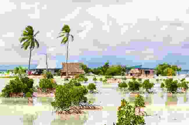 A village on South Tarawa Atoll, Kiribati (Shutterstock)