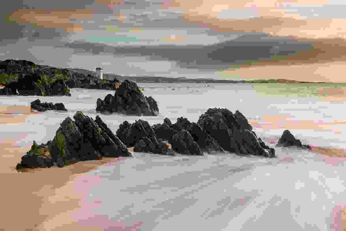 Singing Sands on Islay, the spiritual home of the Uisge Beatha [whisky] (Dougie Cunningham)