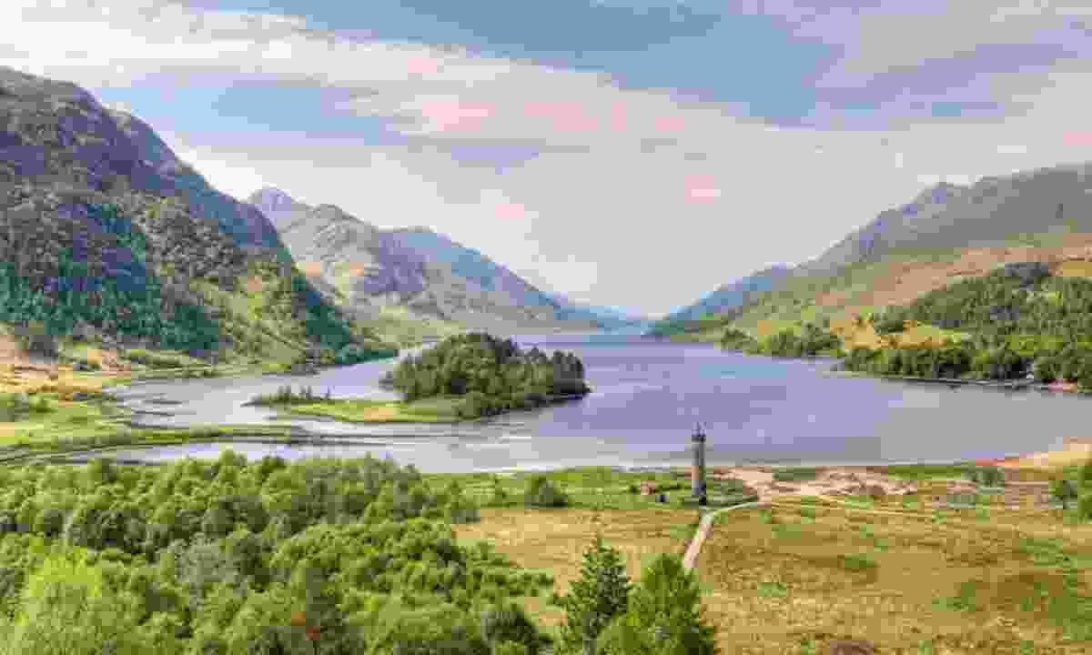 Loch Shiel in Glenfinnan (Shutterstock)
