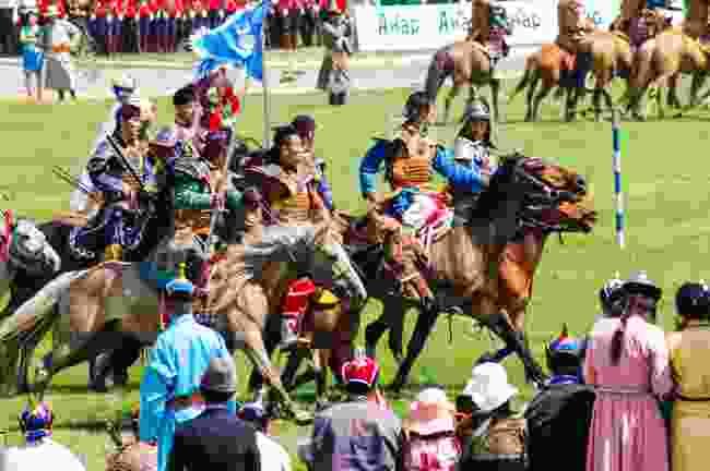 Naadam Festival, Mongolia (Shutterstock)