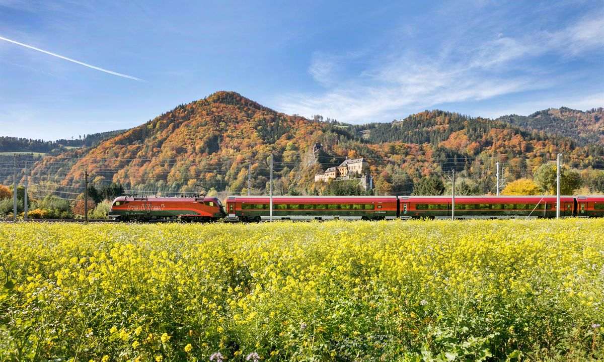 Places in Austria Easily Reached by Train Travel
