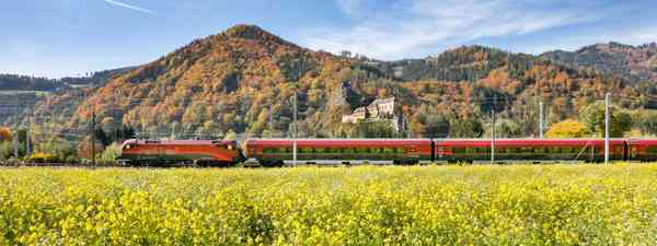 How to travel to Austria by train (Harald Eisenberger)