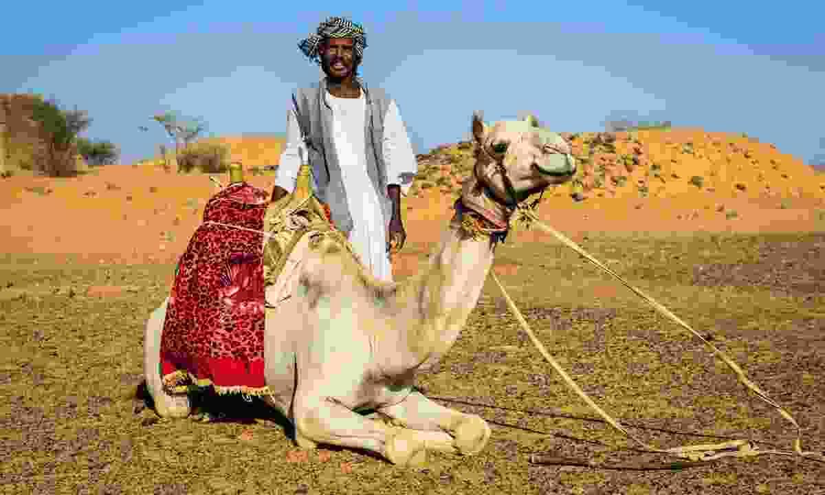 A desert camp in Sudan (Wild Frontiers)