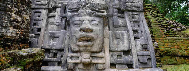 Mayan temple face (Shutterstock)