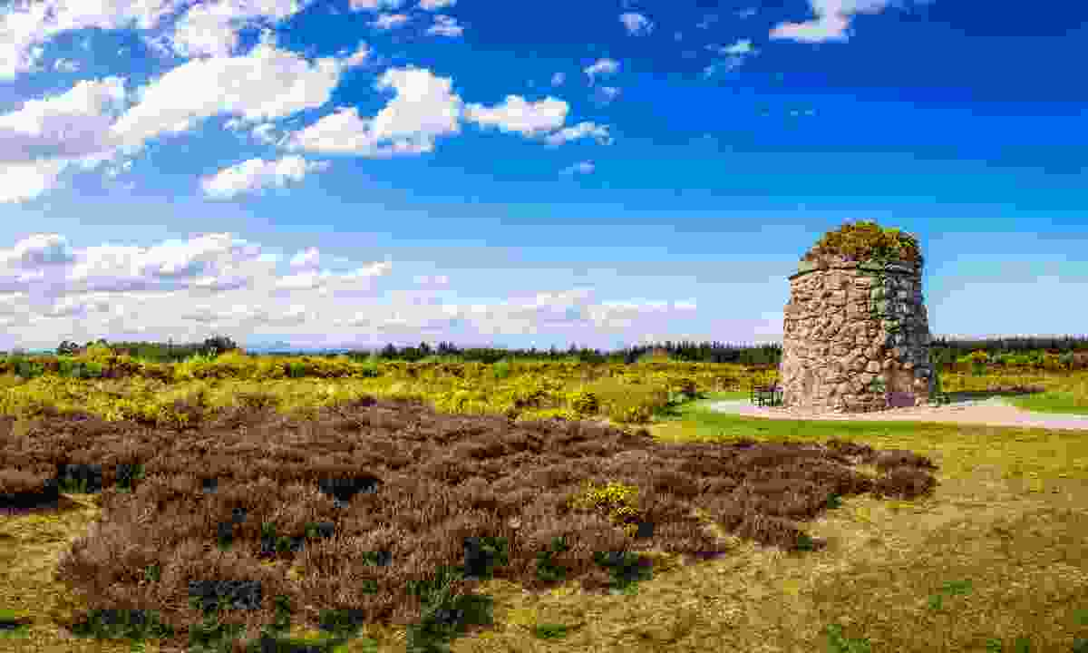 Memorial Cairn at the battlefield of Culloden near Inverness (Shutterstock)