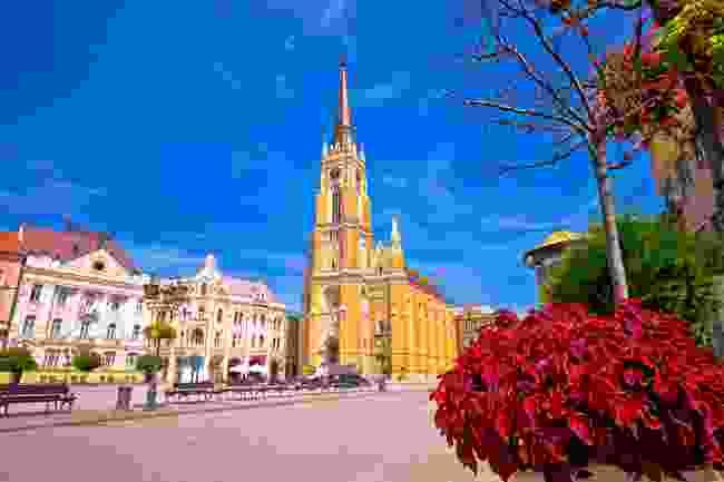 Name of Mary Church, Novi Sad (Shutterstock)