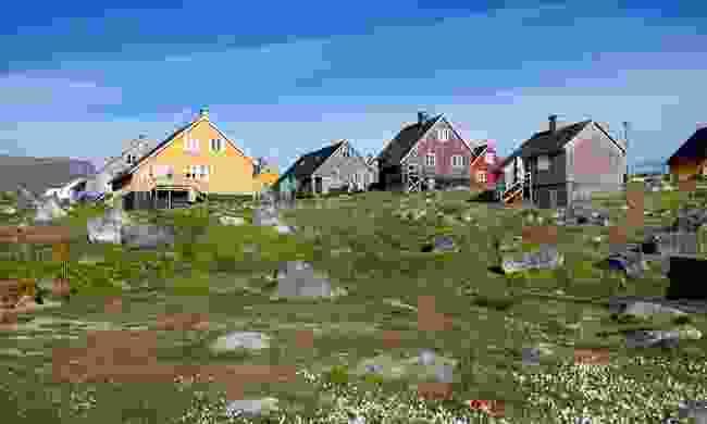 The colourful houses of Nanortalik (Shutterstock)