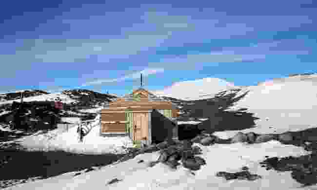 Sir Earnest Shackleton's hut on Ross Island (Shutterstock)
