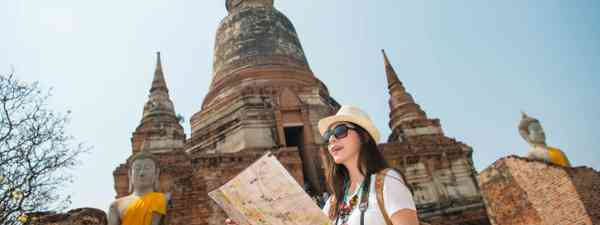 Female solo travel in Thailand (Dreamstime)