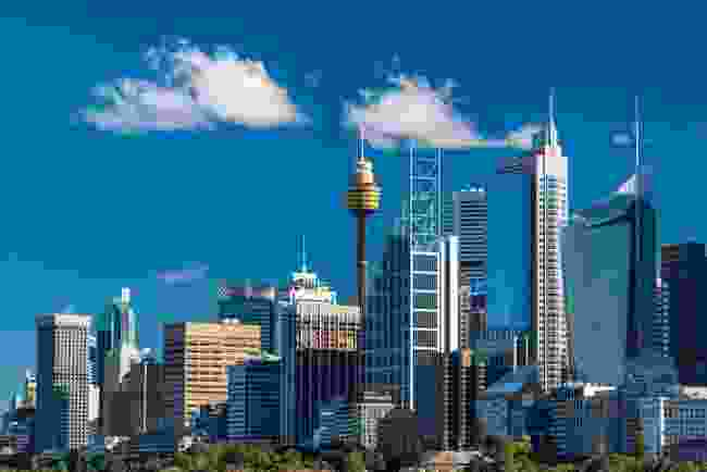Downtown Sydney, Australia (Shutterstock)