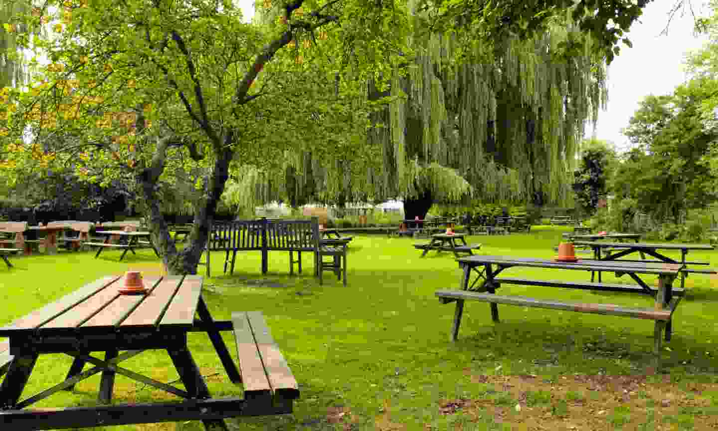 Soak in the sun in its spacious beer garden (The Perch)