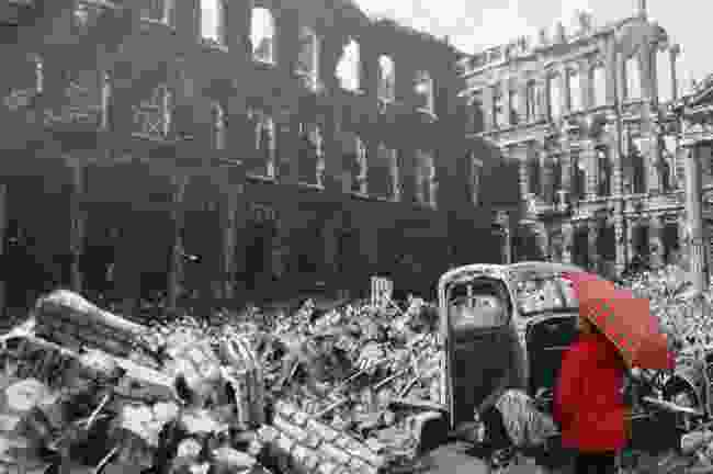 Facing WWII in Berlin, Germany (Prabir Mitra)
