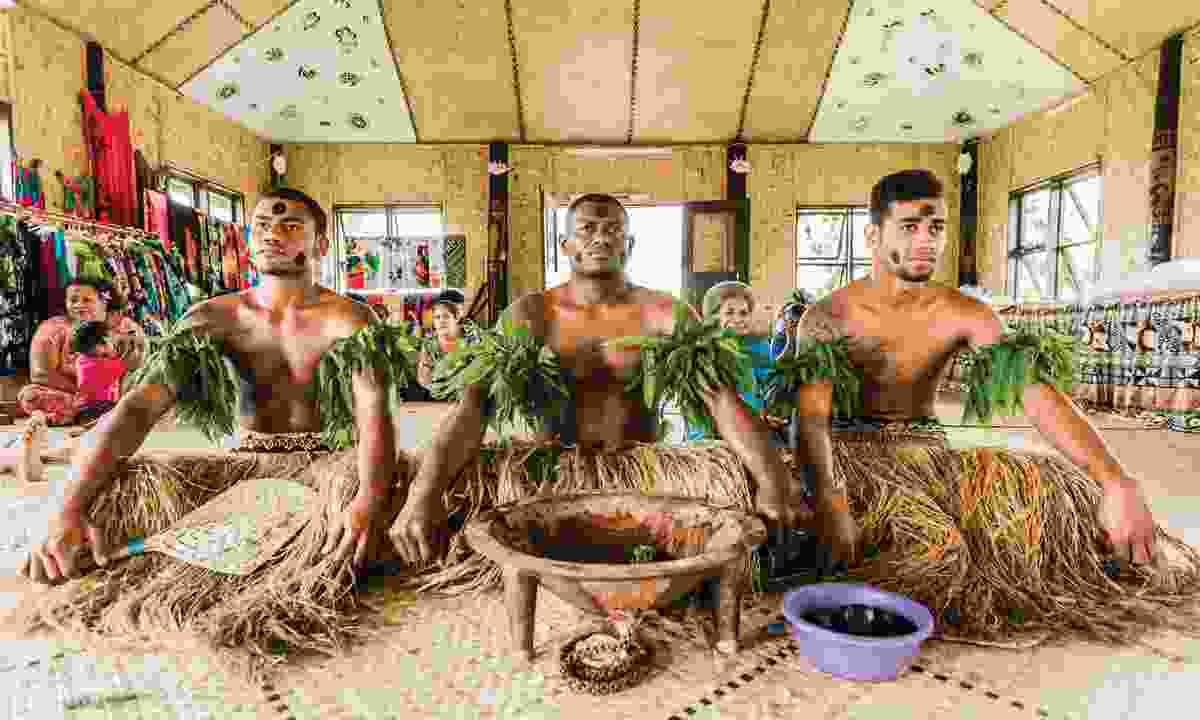 Yaqona ceremony (Tourism Fiji)