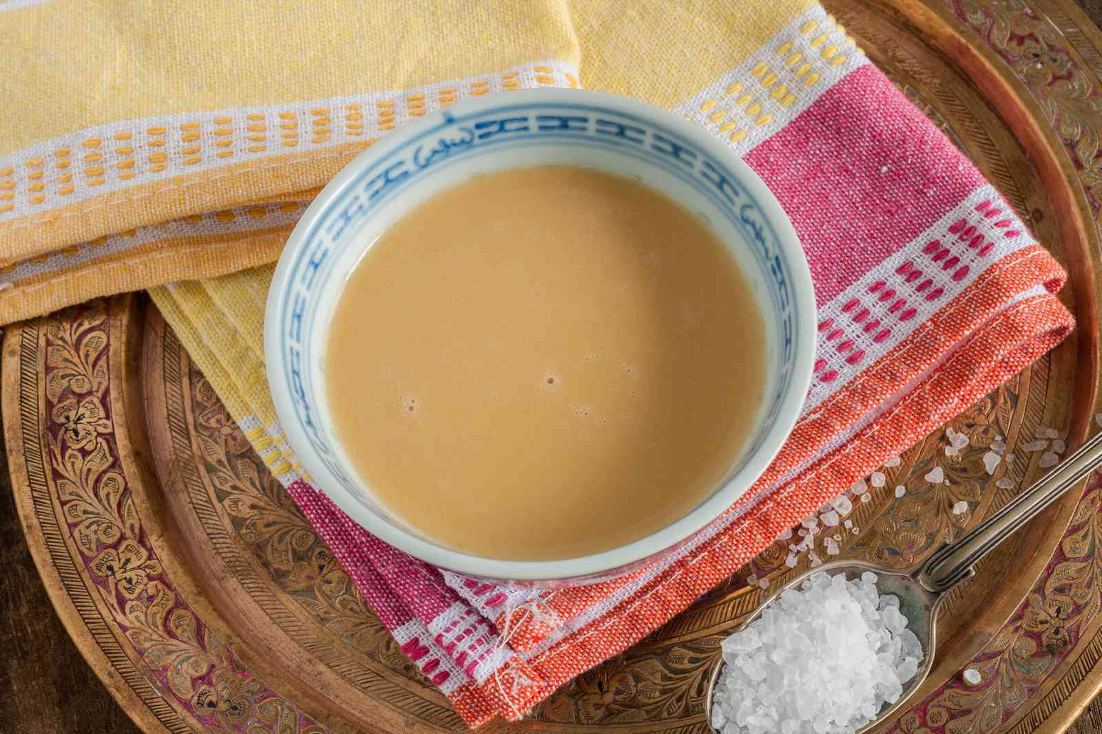 Yak butter tea in Tibet (Shutterstock)