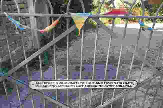 The gate in question (Jackie Scully)