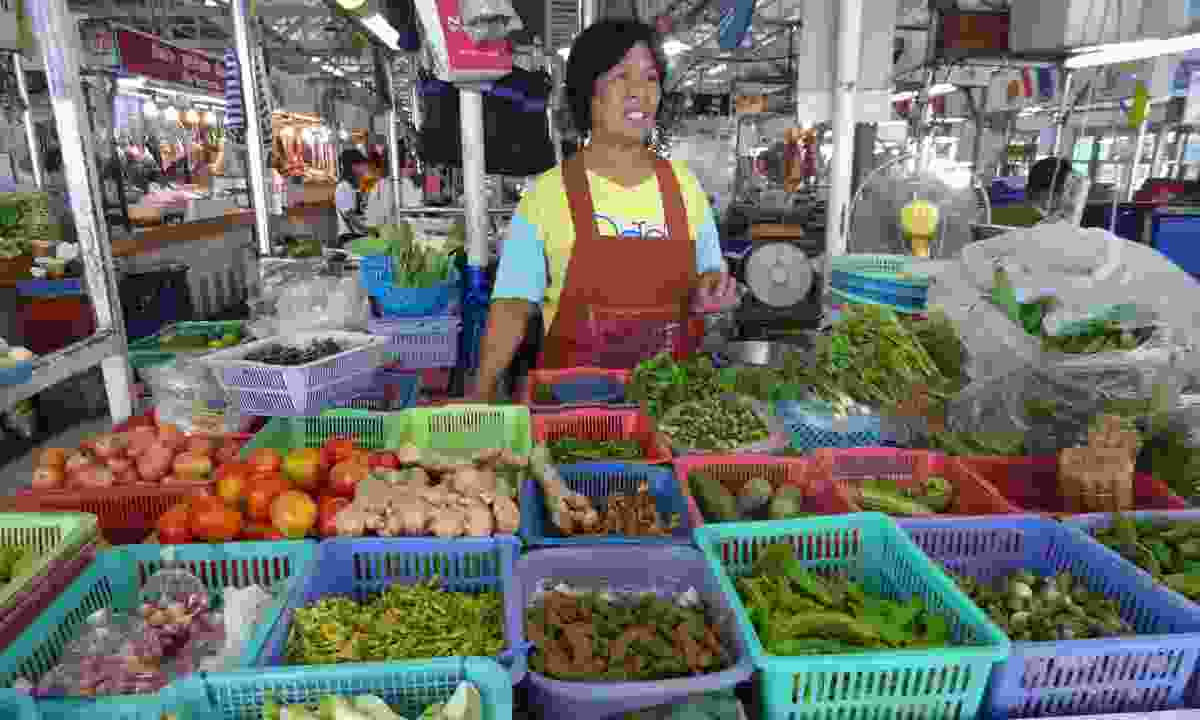 Shop at street markets for local produce (Audley)