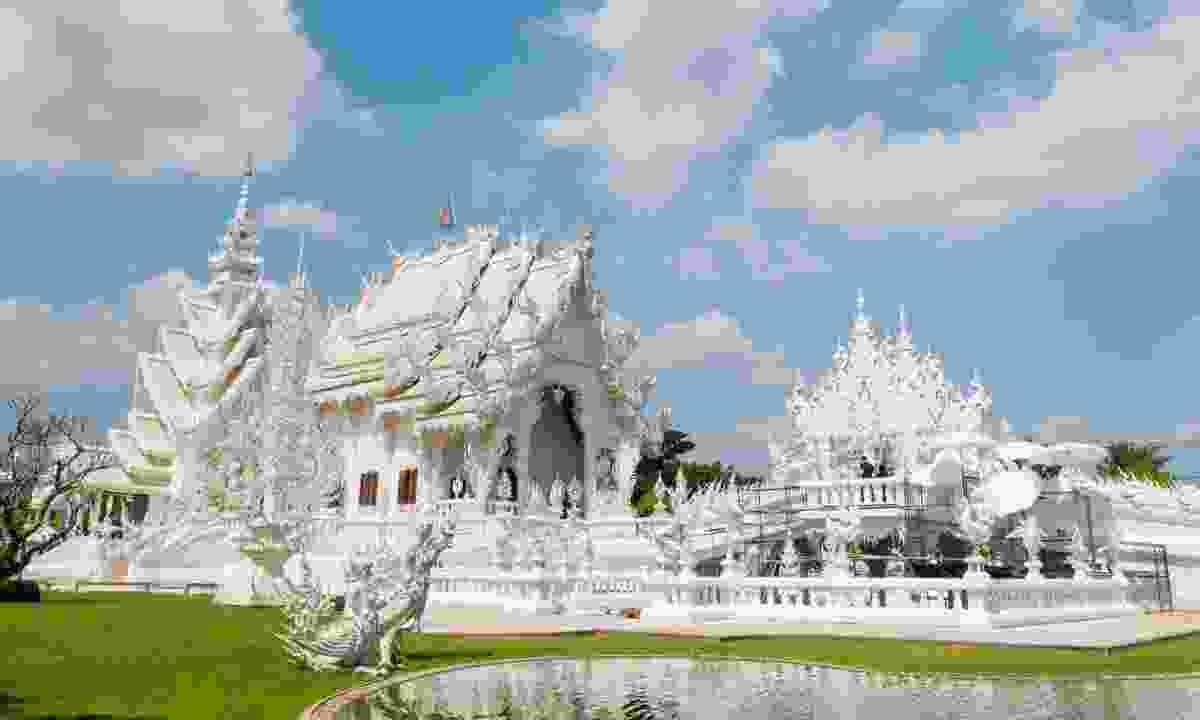 Wat Rong Khun in Chiang Rai Province (Dreamstime)