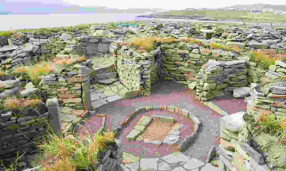 Mousa ruins, Shetlands (Dreamstime)