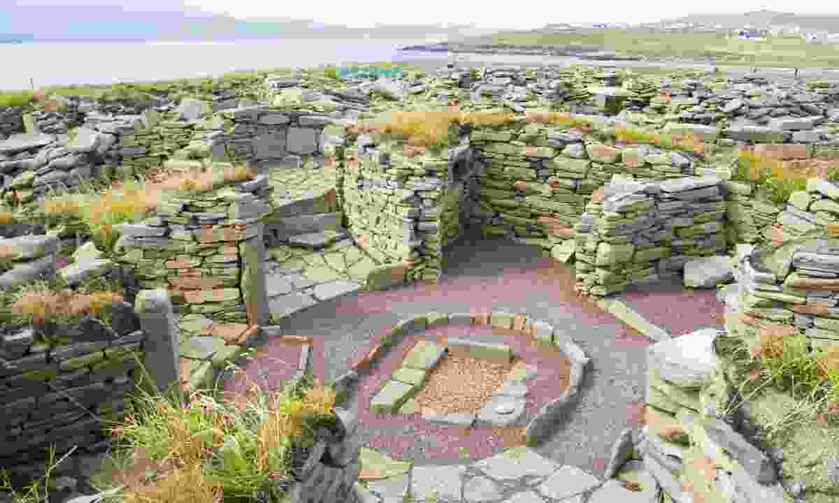 Old Scatness Broch & Iron Age Village, which is part of the Crucible (Dreamstime)