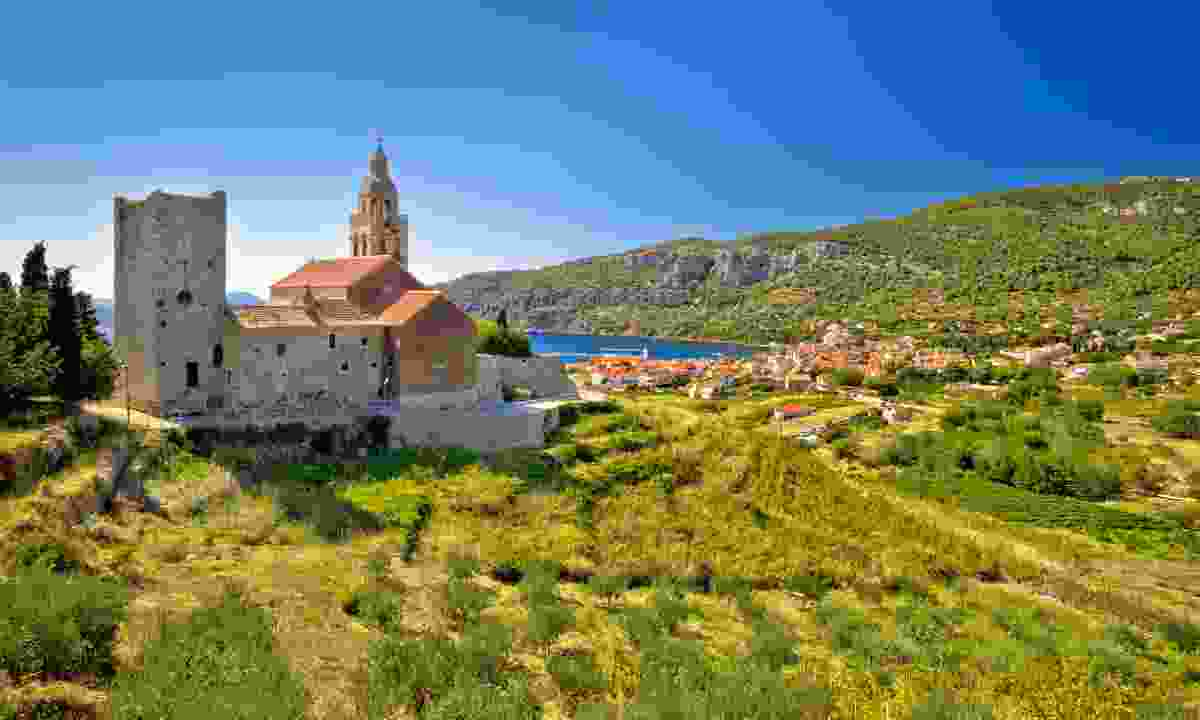 The view towards Komiža (Dreamstime)