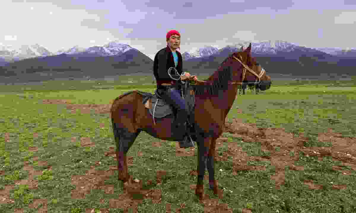 Young nomad in Kyrgyzstan (Dreamstime)