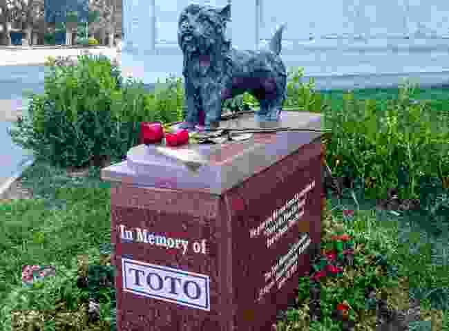 Toto's final resting place. Not in Kansas (Dreamstime)