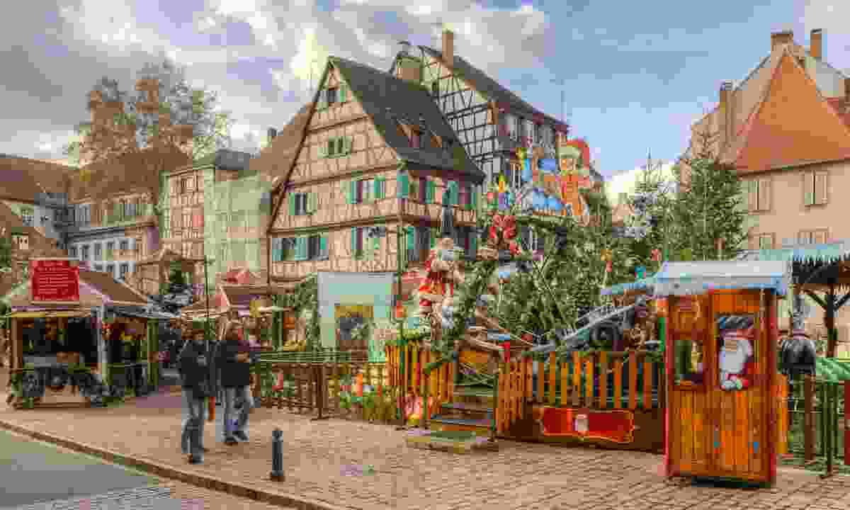 The Colmar Christmas Park for kids (Dreamstime)