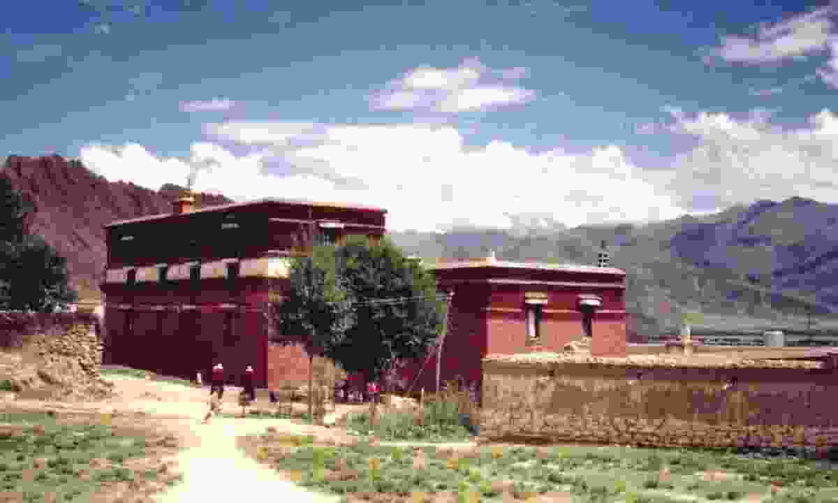 Nechung Monastery (Creative Common: John E. Hill)