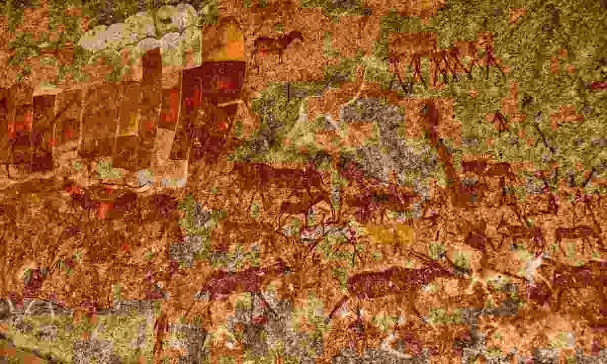 Bushmen rock painting in Matobo National Park (Shutterstock)