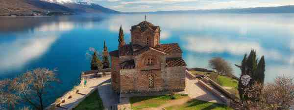Church of St. John at Kaneo, Ohrid (Shutterstock)