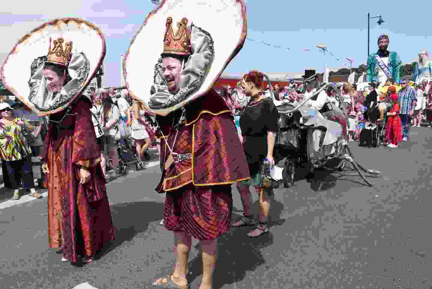 The Oyster King and Queen, Whitstable Oyster Festival (Shutterstock)
