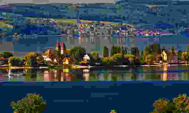 Reichenau Island in Lake Constance (Shutterstock)