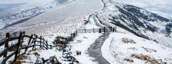 Winter in the Peak District (Shutterstock)