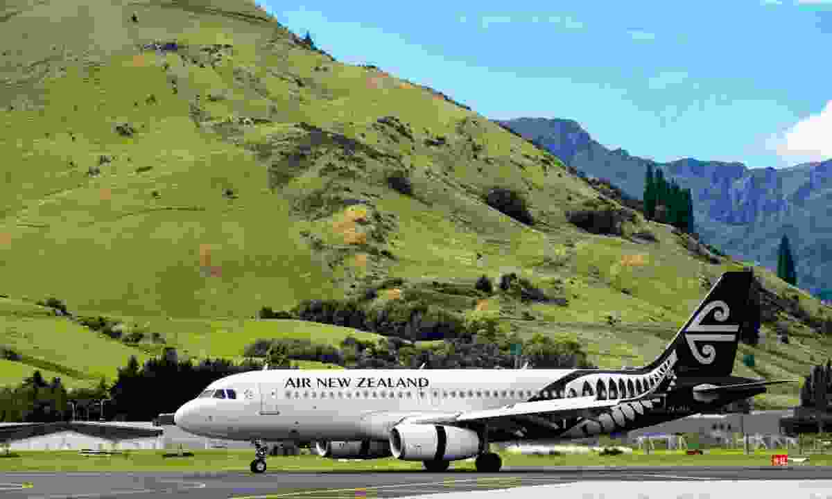 Air New Zealand plane (Dreamstime)