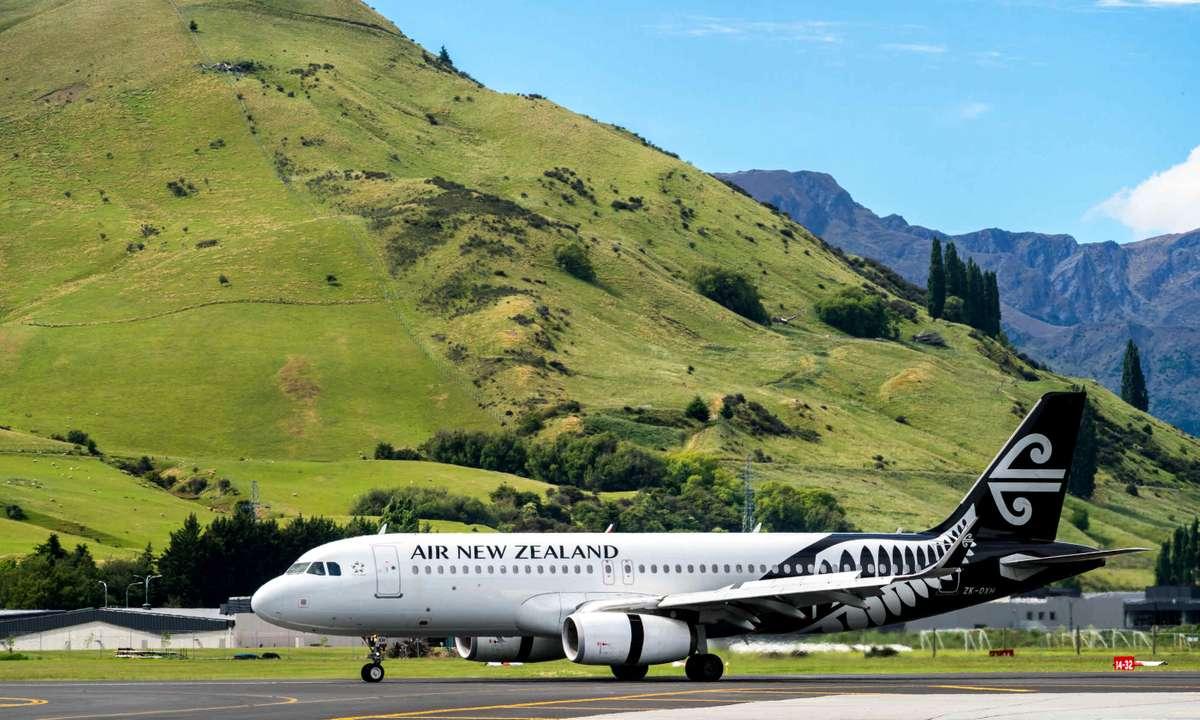 Air New Zealand plane (Dreamstime)