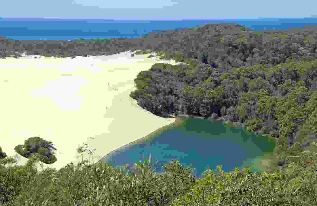 Fraser Island, Australia. (Dreamstime)