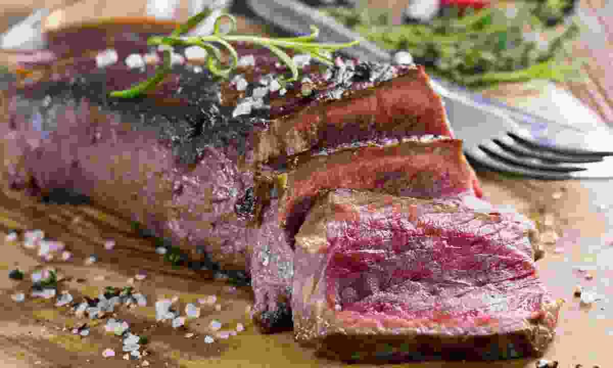 Mmmmm, Argentinian beef steak... (Dreamstime)