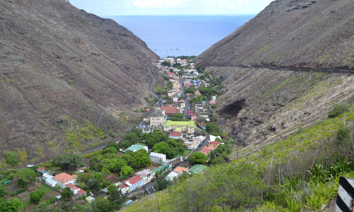 Jamestown, St Helena (Dreamstime)