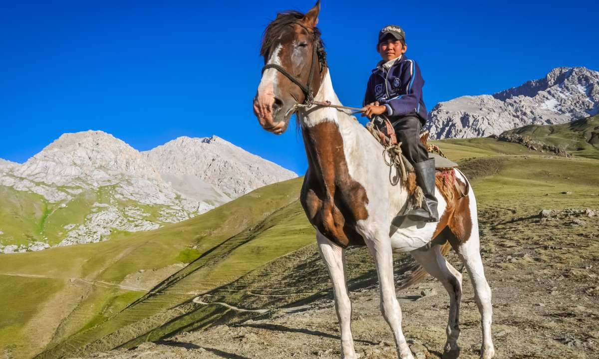 Guided horse treks can be organised through Community Based Tourism (Dreamstime)