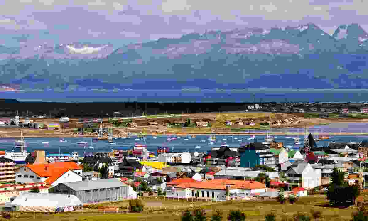 Ushuaia is known as the end of the world (Dreamstime)