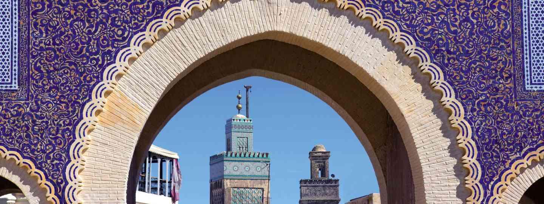 Bab Bou Jeloud, Fez (Dreamstime)